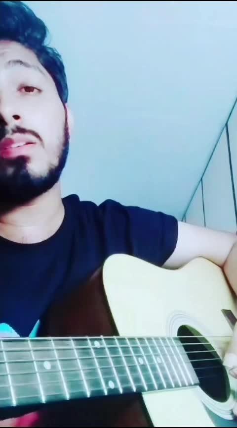 Tere Bin Sanu Soniyaa...🖤 #punjabi #acoustic #roposo