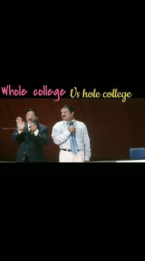 whole college vs hole college
