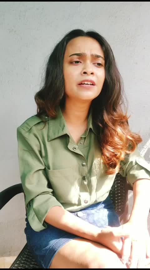 Zara Zara from Rehnaa Hai Terre Dil Mein. Sung by Bombay Jayashri, composed by Harris Jayaraj and penned by Sameer.   #VedasDiary #ZaraZara #instasinger #singer #musician #indiansinger #performer #dedicated #risingstar #roposo