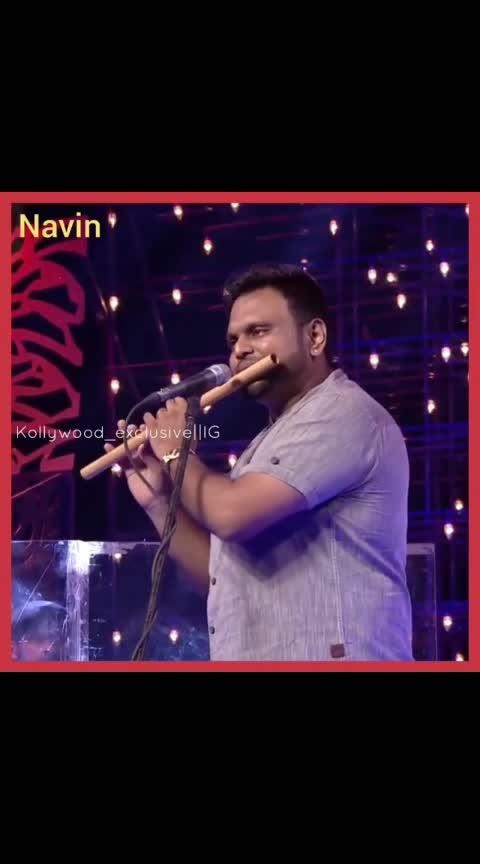 Navin's flute performance.. @tamizhan_world360  @tamizhan_world_180  @kollywood_exclusive . . . . . . . . #vijaytelevision #ramar #thangadhurai #vadivelbalaji #dheena #vadivelbalaji😂 #doublemeaning #comedy #sirichapochu #kalakapovathuyaru #vadivel #funnyvideos #athuithuethu #dubsmash #hilarious #vijaytv #singer #shortfilm #bigboss #oviya #oviyaarmy #bigbosstamil #bigboss2 #oviyasweety #oviyahelen #oviyafamily #oviyahelenofficial #oviyamovie #musicallys