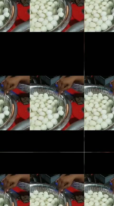"""বাঙালীদের প্রসিদ্ধ মিষ্টান্ন।  """"রসগোল্লা"""" ❤️ #food #sweet #foodgasm #bengali #soroposo"""
