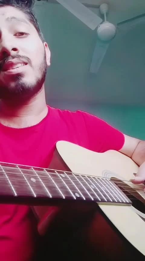 """Tu Tu Hai Wahin"" 🎙🎸 #acoustic #retrosong #roposo"