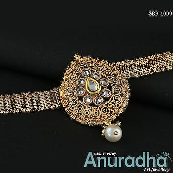 Latest Collection Of Bajuband. Get more designs on this link: https://bit.ly/2IKsoVR . . . . . . . . . . . #bajuband #goldenbajuband #newbajuband #fashionjewellery  #fashion  #jewellery  #artificialjewellery  #teamindia #EatsHomeAdvantage #sundaythoughts #AnuradhaArtJewellery