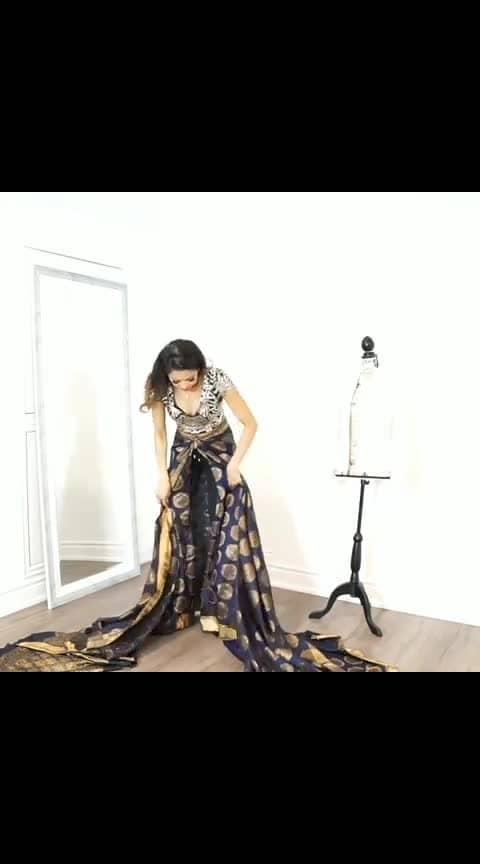 Veriety saree draping
