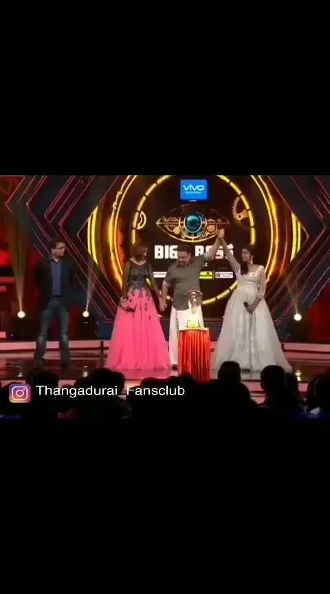 Bigg Boss season2 Riythvika winning moment #tamilbiggbossseason2 #kamalhassan #riythvika #finale