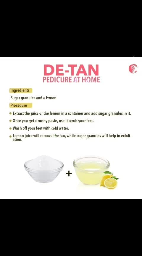 #roposobeauty tips for pedicure at home