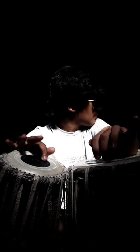ve mahi 🎵 #music #song #tabla #player #arijit_singh #ved_prajapati #roposo-music