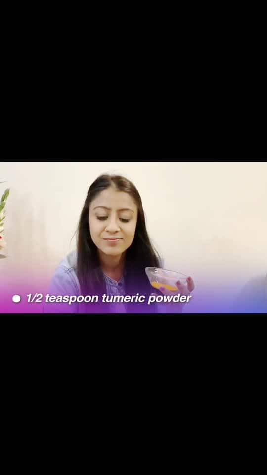 Get Fresh and Glowing Skin By using these home Remedies:: SkinCare Series  Epi 01: Tumeric remedy for glowing skin...... You will need... 1- 1/2 teaspoon tumeric powder 2-4 tablespoons gram glour 3- milk or water  What you have to do:  1- mix the tumeric powder with the gram flour. To this, add enough milk or water to form a paste 2- apply this on your face  3-leave it on for 15 mins. Rinse with plain water  How often you shud do this Use this remedy once or twice a week. - - - - - #skincare #skinista #skin #glowing #glowingface #glowingskinfromwithin #softskin #goldskin #tumericsoap #tumericlatte #homeremedie #homemade #tumerictea #spoons #skintheraphy #skintherapyoil#wonderfulskin #skintips #hacks #homehack #hackamore #diy #goodskinday #goodskin #tanavmuktikendra