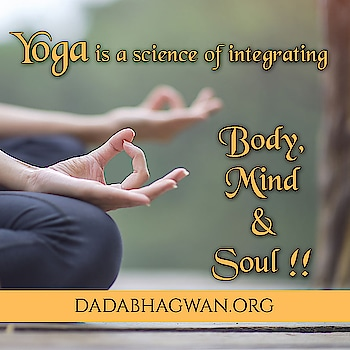 Yoga is a science of integrating body, mind and soul !!  According to the teachings of yoga, enlightenment is the goal of all meditation and yogic practices – be it physical, mental or spiritual.  Read more on: https://www.dadabhagwan.org/path-to-happiness/self-help/yoga-meditation-and-self-realization/about-yoga-and-meditation-types/  #yoga #fitness #meditation #gym #love #yogainspiration #workout #yogi #yogalife #namaste #yogaeverydamnday #health #pilates #fit #motivation #mindfulness #fitnessmotivation #yogalove #yogachallenge #wellness #yogagirl #yogapractice #yogateacher #healthy #yogaeverywhere #nature #crossfit #yogaeveryday #yogini #bhfyp