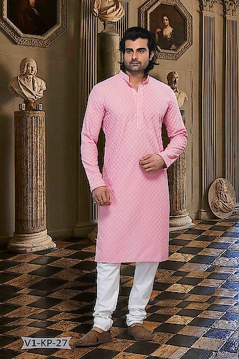 #VivahCollection #Kurta With #OffwhiteBottom #chikankurta #Indianlook #chikankari #withcolours #Trendy #Biege #Pink-white #indianwedings #lookgoodfeelgood #betraditional #whiteloverforever #forRich & #RoyalLook to Know more details whatsapp on 919820936178