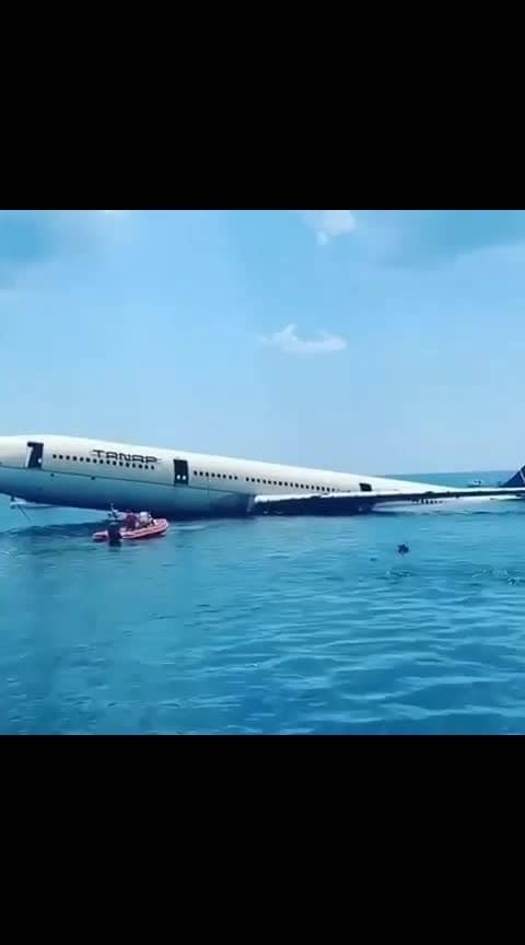 Airbus A330 sunk to create a reef