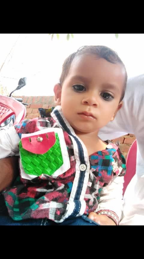 my cute  bhanja # like