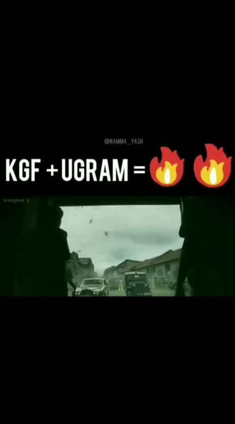 #yash_boss_kgf #ugram_version #shree_muruli #wonderful_to_looking 😍😘👌