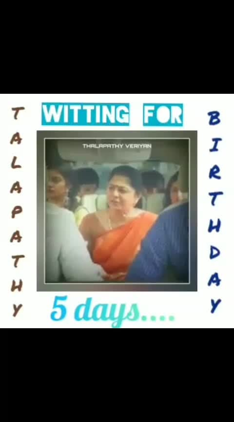 #thalapathybirthdayspecial video#thalapathy-fan