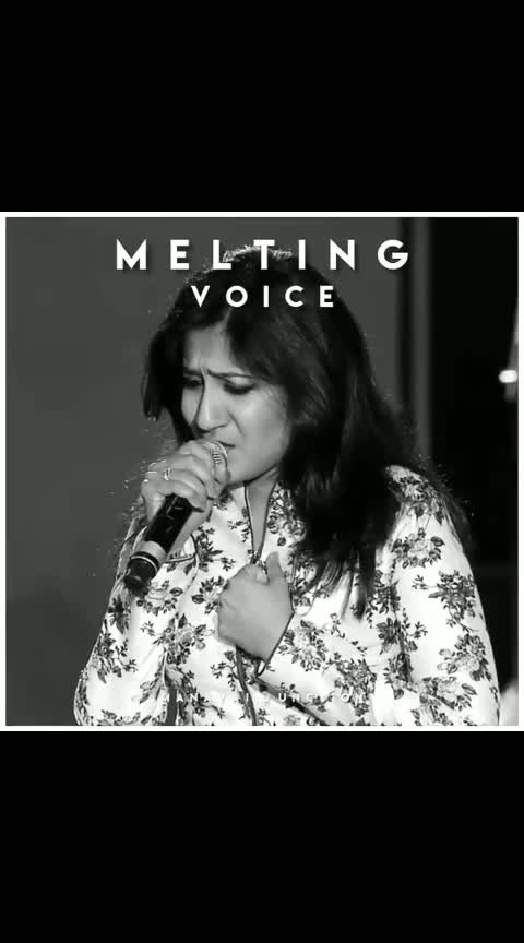 #sherya_ghoshal melting voice