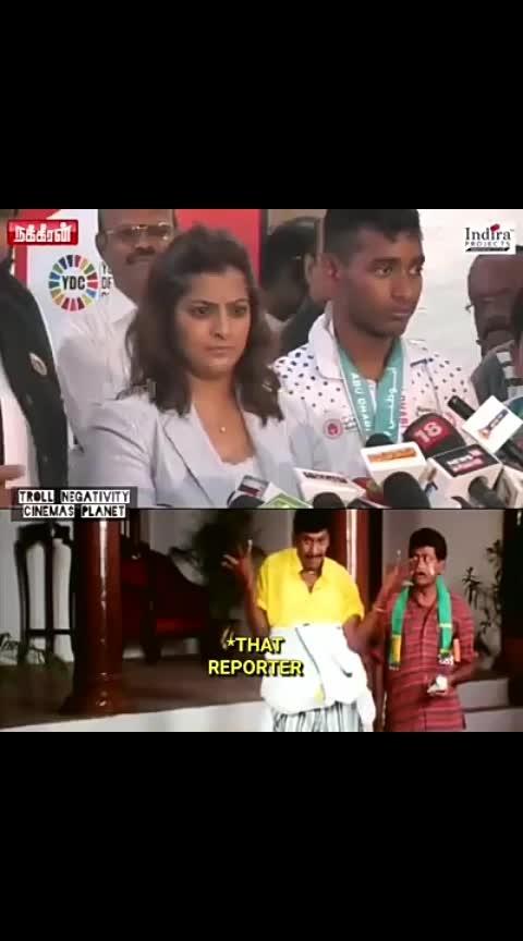Hats off #Varalakshmi 👏👏👏👏👏👏👏 Perfect seruppadi to such media people!!!😎
