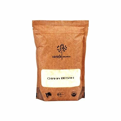 VANAJA ORGANICS Soyabean Flour 500 g Price: 100 Click here for buy :https://amzn.to/2L0cJSD  Soya flour is made by grinding roasted organic soybeans into a powder Rich in high-quality protein and other nutrients, soya flour also adds a pleasant texture and flavour to foods Shelf Life: 6 Month Certification: India Organic (NPOP) & USDA (NOP)