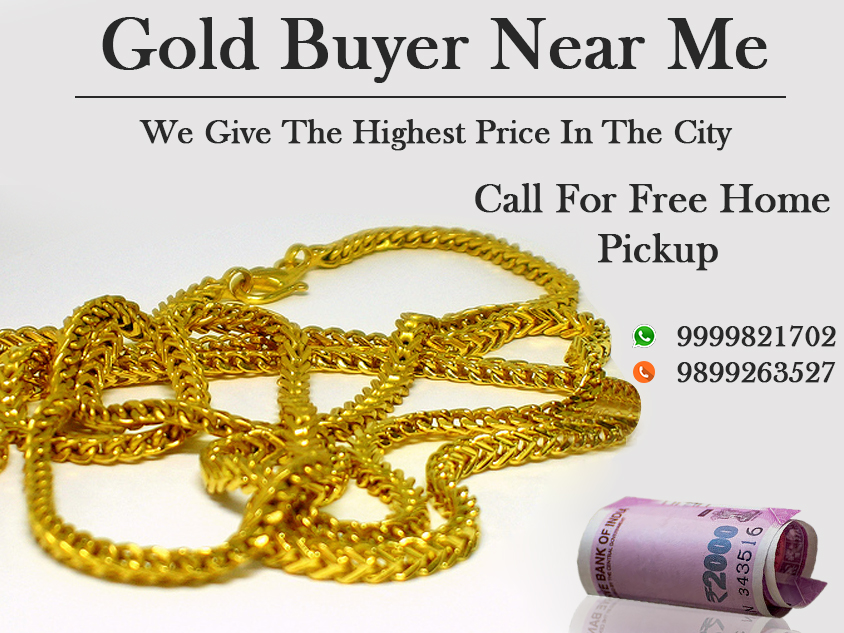 When looking for a profitable sale with the buyer near you, prepare yourself before you get deceived by frauds. Find the authorized jewellery buyer near you in Delhi NCR. If you are interested to know more about our services, contact us at 9999198264  https://www.sellyourgolddelhi.com/cash-for-gold-in-sector-18-noida.php