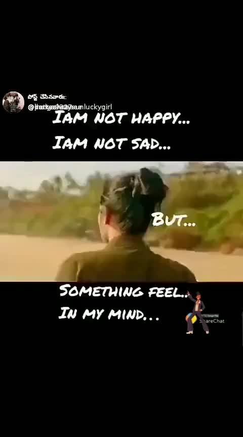 not hpy not sad