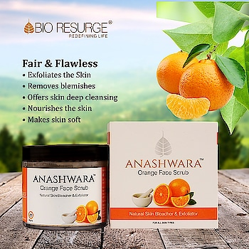 Help that gorgeous skin exfoliate and dry out acne, slow down wrinkles and stop premature ageing. The pure vitamin C in our Orange Face Scrub helps in building collagen, keeping the skin younger and supple.  Shop Now From: www.bioresurge.in www.amazon.in www.flipkart.com https://www.1mg.com | Nykaa, Paytm, eBay, Qtrove, Healthmug, LimeRoad, Shopclues.  #bioresurge #chemicalfreeskincare #pure #naturalsmile #ayurveda #organic #lifestyle #love #smile #beauty #healthy #naturalskincare #free #deals #skincare #CleanSkin #PureSkin #FlawlessSkin