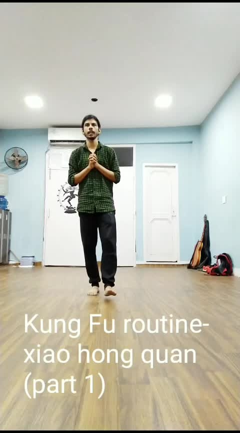 Kung Fu Xiao Hong Quan (part 1) #roposo #workout #fitnessaddict #kungfu #martialarts #exercise #workoutmotivation #mma #loveyourself #stayfit #looseweight #core #coreworkout #corestrength