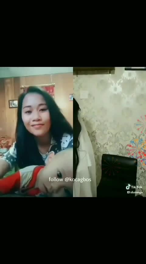 Funny and scarring tik-tok attack #tiktok-roposo #haha-funny #scary #ghost #afraid #roposo-kids 🙄👽👻😱