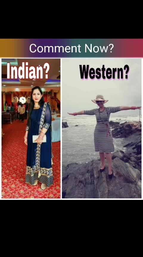 Indian/western? #fashionquotient #fashionmoments #fashionquotientchannel #lookgoodfeelgood #lookgoodfeelgoodchannel #fashionblog #ropo-fashionblogger #fashionbloggerstyle #fashionbloggerindia #fashionbloggerchandigarh #dailypost #followmeonroposo