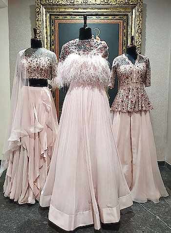 A PERSIAN FABLE by Ridhi Mehra Deval The Multi Designer Store,Ahmedabad. 20-21 June. A romantic dream in soft pastels with delicate details!!! #devalstore #ahmedabad #latestcollection #newarrivals #newcollection #designerwear #designercollection #womenswear #clothingstore #newseason #fresharrivals #newonracks
