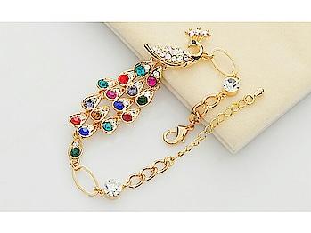 Chia fashion colorful peacock bracelet  Shop here : http://bit.ly/2XqB5vo  #fashion #be-fashionable #summer-fashion #jewellerylove #fashionjewellery #fashion-diva