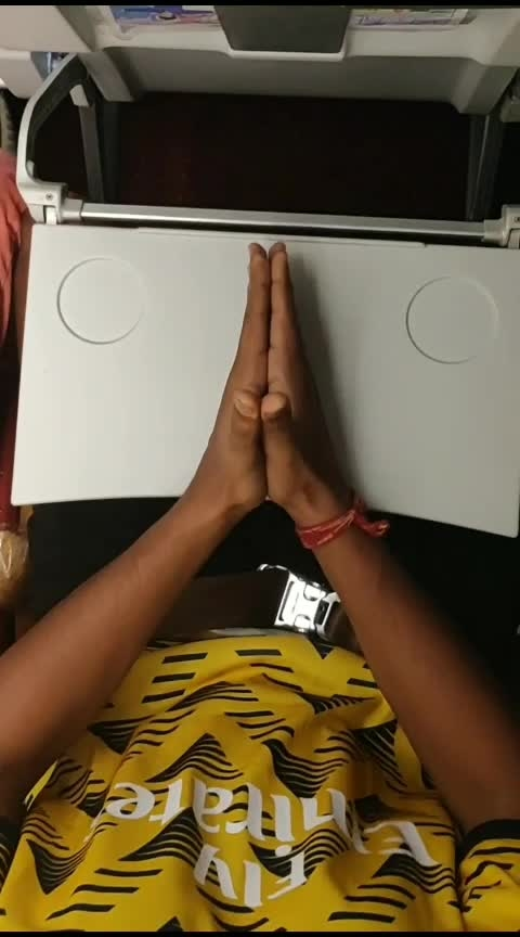 """Dancing In Flight 😂 """" Wait for it. """" New magic trick with some finger tutting.  #airindia #flight #dance #roposo-dancer #danceing #flightdancing #rops-star #so-ro-po-so #ro-po-so #ropo #roposo-rising-star-rapsong-roposo #ropo-video #-----roposo #roposodaily #roposodancer"""