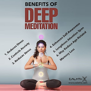 #Benefits of Deep #Meditation  www.calathx.com  #maditation #yoga #TrainHard #Gains #Strengthtraining #Physiquefreak #CrossFit #FitFluential #Fitnessfriday #Squats #Health #Healthylife #like4like #follow #calisthenics #fitindia #Fitspo #Fitfam #GirlsWhoLift #Legday #NoPainNoGain #FitLife #GetStrong #Workout