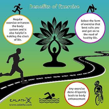 Benefits of #Exercise   www.calathx.com  #healthcare #health #healthylife #Work #healthylifestyle #healthyliving #wellness #motivation #healthyhappylife #GetStrong #Workoutwithcalathx #TrainHard #Gains #Strengthtraining #Physiquefreak #Yoga #CrossFit #FitFluential #Fitnessfriday #Squats #like4like #calisthenics #fitness #calathx