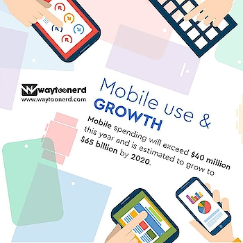 Mobile use & Growth  www.waytoonerd.com  #technology #tech #electronics #software #computer #gadgets #follow #android #instatech #technews #geek #developer #startup #gadget #smartphone #dailyfact #didyouknowfacts #quotes #funfacts #amazingfact #like #true #doyouknow #interesting #motivation #awesome #quote #factsonly