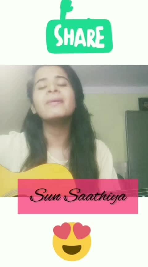 #sunsaathiya #shraddhakapoor #varundhawan #bollywood #singinglove #roposo #abcd