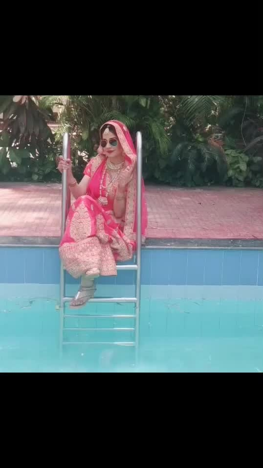 Life is cool by the pool😉🤟🏻 Well! After all I'm a piscean, So can't stop myself whenever I see water around me🤷🏻♀️ 💦  #obsessed #water #piscean #pisces #waterlover #pool #bluewater #aqua #poolgirl #poolswag #bride #poolpic #coolpic #instapic #instagram #instacool #instago #shootlife #lovemywork #lovemyjob #blessed