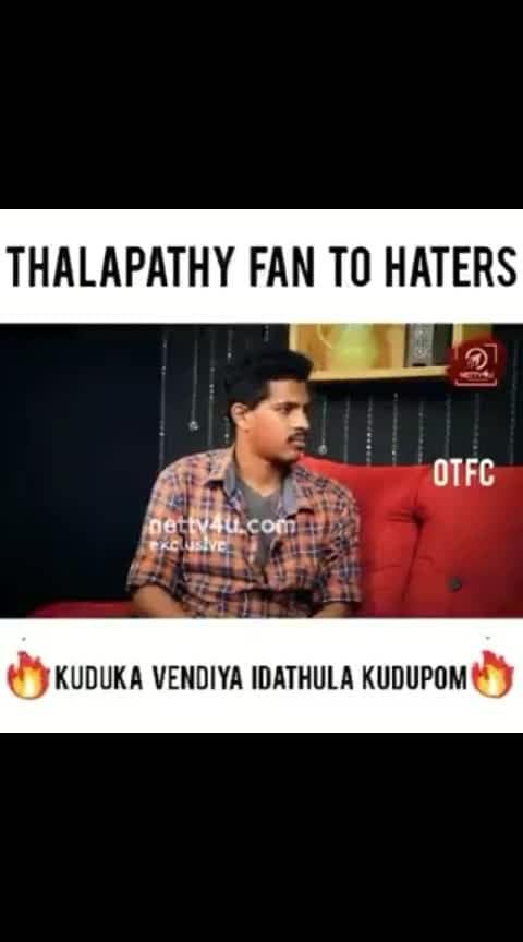 #ThalapathyFan