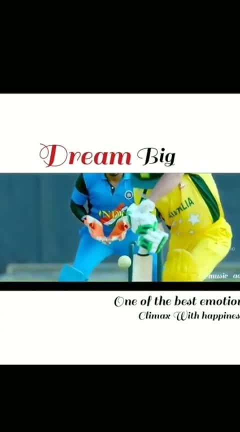 #dreambig ....