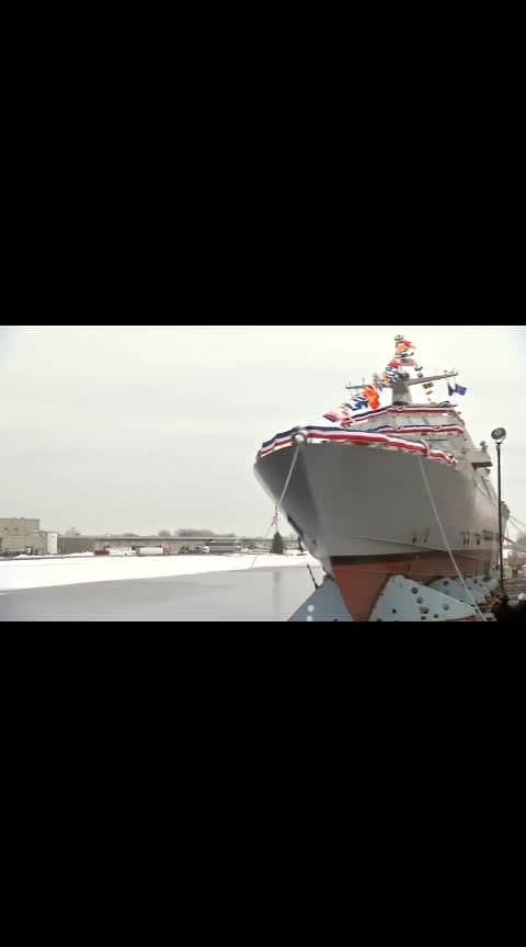 Never Everseen.... Launching of Ships...
