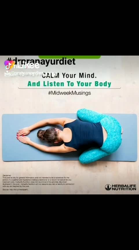 Clearing your mind and focusing on your breath are easier said than done! What kinds of random thoughts pop into your mind in the middle of an asana? Tell us in the comments!  #yoga #stretch #relax #instayoga #yogaday #asana #meditation #fitness #yogalife #drpranayurdiet #konkanwellnessfoundation #thegoldensmile