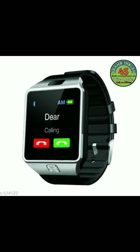 Rs.739+0. COD available. Stylish Smart Phones Compatible Smart Watches Vol 1  Material: Silicon & Rubber  Size: Free Size  Supported Features: Bluetooth, Facebook, Whatsapp, Sim Card,                                   Memory card, Fitness tracker   Compatibility : Compatible with smartphones  Description: It Has 1 Piece Of Smart Watch    Dispatch: 2 - 3 Days