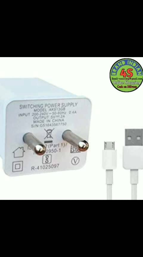 Rs.189+49.Cod available. Trendy Useful Mobile Charger Electronic Accessories Vol 5  Material : Plastic Compatible : All Smart Phones Type : Travel Charger Output : Variable (Check Product For Details) No Of USB Port : Variable (Check Product For Details) Description : It Has 1 piece Of Travel Mobile Charger Dispatch : 2 - 3 Days