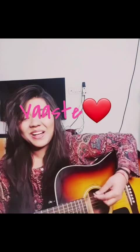 back with a small #cover  of #vaaste   a very #happy  #worldmusicday #2019 to all !!   #worldmusicday2019 #vaastenewsong #vaaste-dhavni #newcover #newsong #trendingnow #roposo-trendings #trendingvideos #trendingmusic #music #roposo-music #musicpower #musician #singer #talent #roposo-talent #talentedmusicians #rawvocals #vocals #vocalist #love-song #songs #guitarist #guitar #fender #guitarcover #tseries #musicislove #dhvanibhanusali #nikhildsouza #indian #romanticsong  #albumsong #albumcover #indiansingers #beautifulsong #beautiful  #worldmusicday #special  #romantic 💗