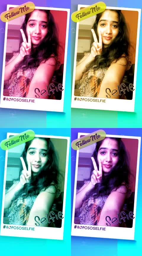 click click selfie #ropososelfie