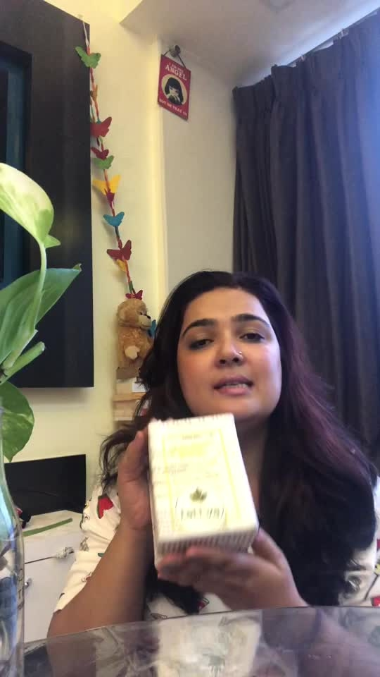 "Thank you @tattva_pure_soul and gauri for sending this goodie box. Loving it totally. TATTVA as the name itself gives a notion of being grounded and close to nature.  These beautiful #handmadesoaps are not only the piece of art but embracing the nature in their existence too. ♥️ HALDI KESAR SOAP: Haldi and Kesar were depicted as anti inflammatory , anti fungal and beauty buddies in our Ayurvedic studies as well. When ur handmade soap contains such powerful ingredients along with glycerin, virgin coconut oil, goat milk base and Shea butter for silky smooth feel ,you will shine like cleopatra 😁 ♥️ HONEY LEMON SOAP: honey has wonder properties to soothe dry skin and when u mix it in a soap with lemon it works very fine for monsoon specially (yes I'm writing after using it in a rainy weather like mumbai, so trust on my words) lemon zest gives a yummy kick when u rub it on your body ,glycerin base makes it ultra creamy. Now u can flaunt your nickname as ""honey""🥰 ♥️CHARCOAL SOAP: Activated charcoal draws bacteria, poisons, chemicals, dirt and other micro-particles to the surface of skin, helping you to achieve a flawless complexion and fight acne and Goat's milk contains precious skin minerals like selenium and is loaded with vitamins, particularly vitamin A, the most important vitamin for the skin. As with other milks, goat's milk contains lactic acid, which is an alpha hydroxy acid (AHA). ... It is both an anti-aging wonder and a lifesaver for dry and sensitive skin. Glycerin +virgin coconut oil and Shea butter combination in a soap does wonder and you achieve a healthy translucent skin. KEY POINTS: 🛑keep the soap in a dry cool place as they might melt 🛑Keep yourself hydrated 🛑Please connect to @tattva_pure_soul for pricing 🛑Last but not the least : LOVE YOUR BODY NO MATTER WHAT!! #skincare #skinregime #loveyoursoul #beautycare #instaskincare #beautifulskin #handmadesoaps #instahealth #blogger #beautyblog #nayanidixit #goatmilkskincare #instagood #instagram #instalove💕 #monsooncare"