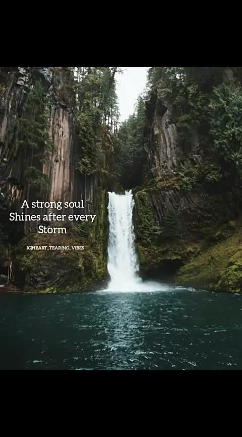 strong souls shines...