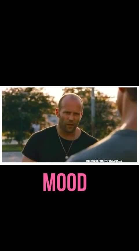 Mood off, angry mood