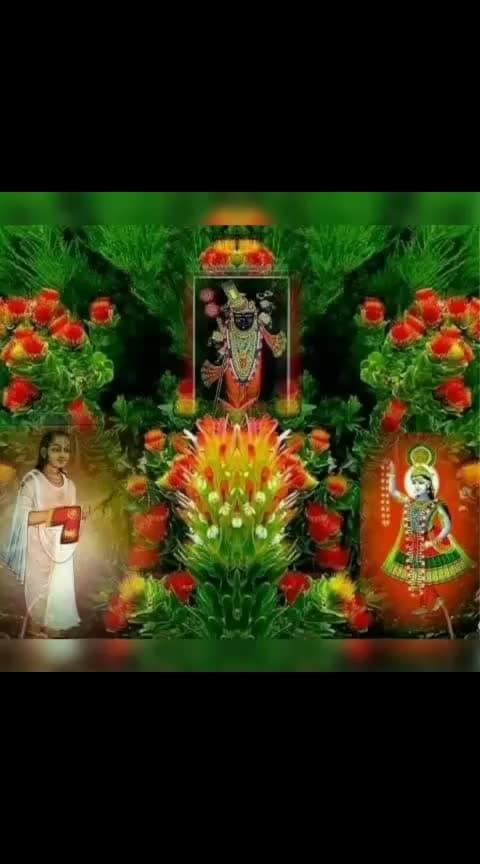 Jay shree Krishna... #shreekrishna  #shrinathjitemple  #jai-shree-shyam
