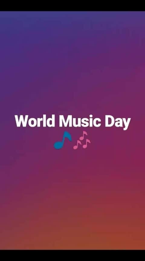 happy world music day❤ #joyoners #worldmusicday #joyocian