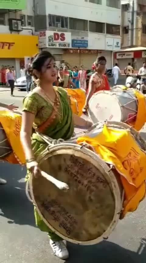 proud to be a dhol vadak 🥰  #jaimatadi  #roposo  #followme  #like  #follow_back
