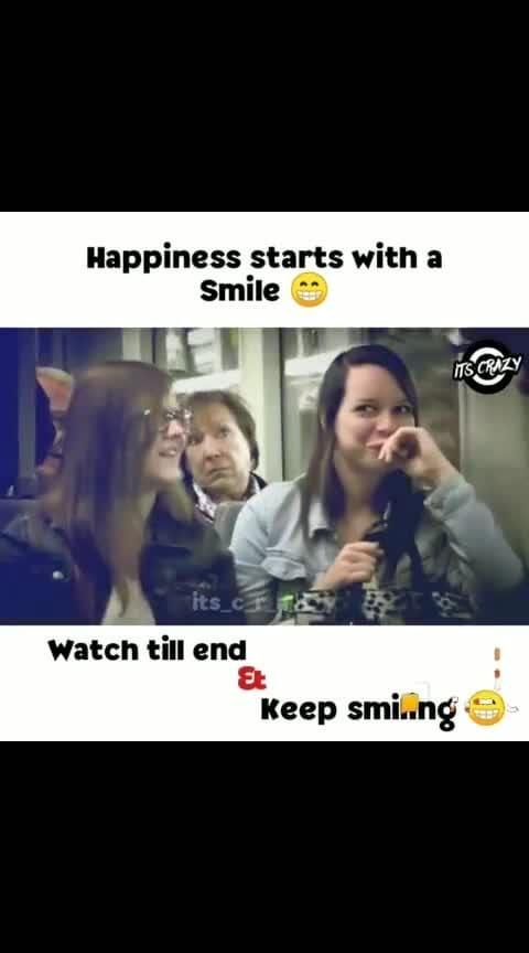 #happieness #just get started #smilies #helo #helofunnystatus  #keepsmilling #watchtillend #happyfaces